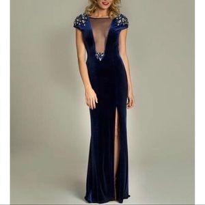 Jovani Velvet Gown